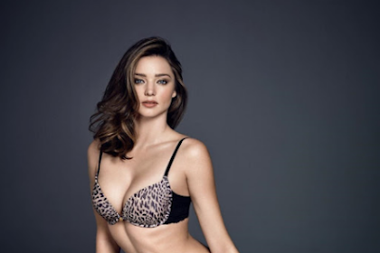 Miranda Kerr bares curves for Wonderbra Fall Winter Latest Campaign