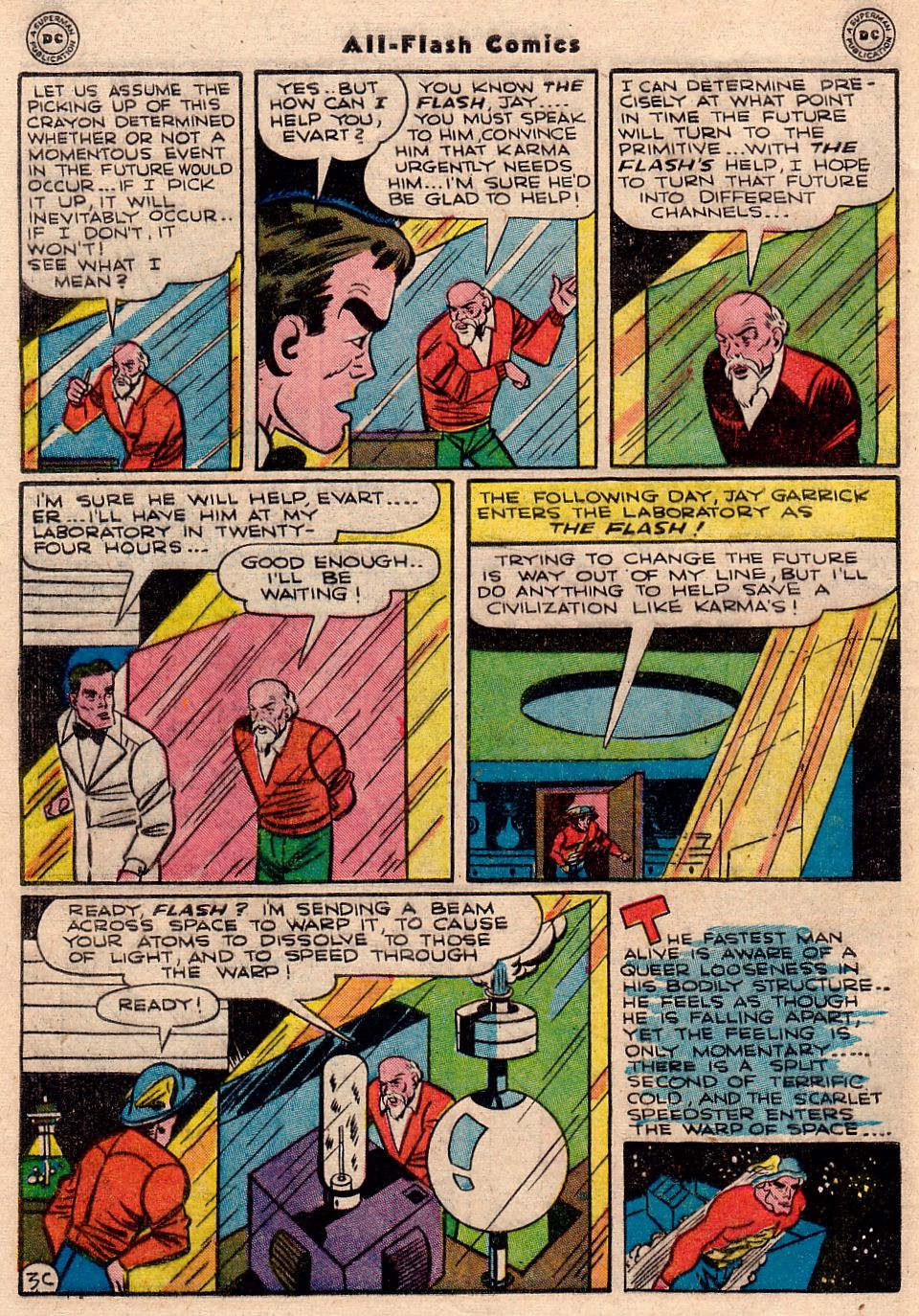 Read online All-Flash comic -  Issue #23 - 39