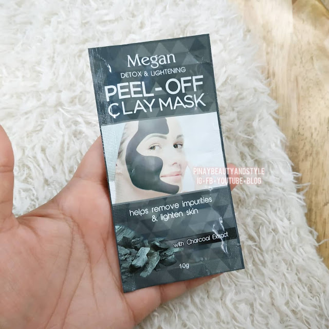 Megan Peel Off Mask ClayMask in Charcoal Review
