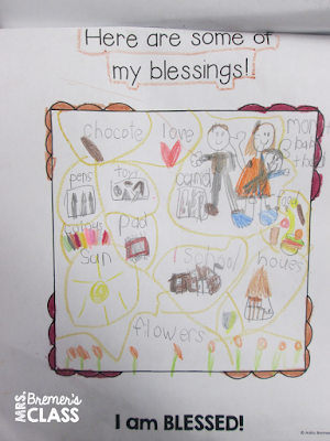 Thanksgiving flip books are a fun activity where students can reflect on their many blessings as they celebrate Thanksgiving day.