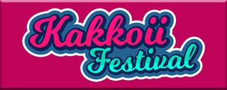 Botón con el logotipo del Kakkoii Festival