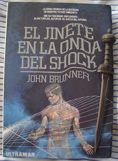 Portada del libro El jinete en la onda del shock, de John Brunner