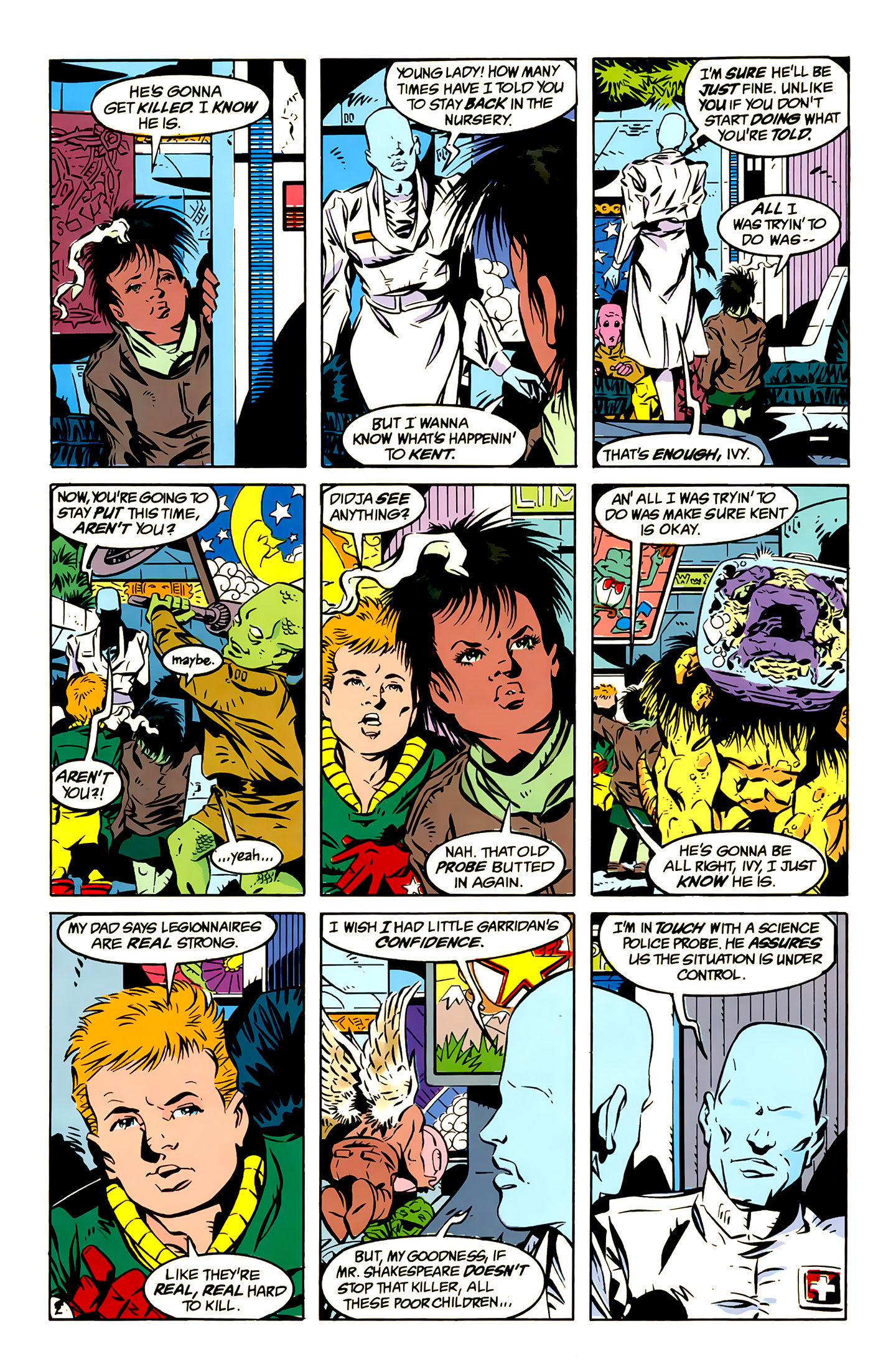 Legion of Super-Heroes (1989) 13 Page 2