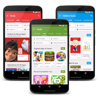Family-Friendly Content On Google Play