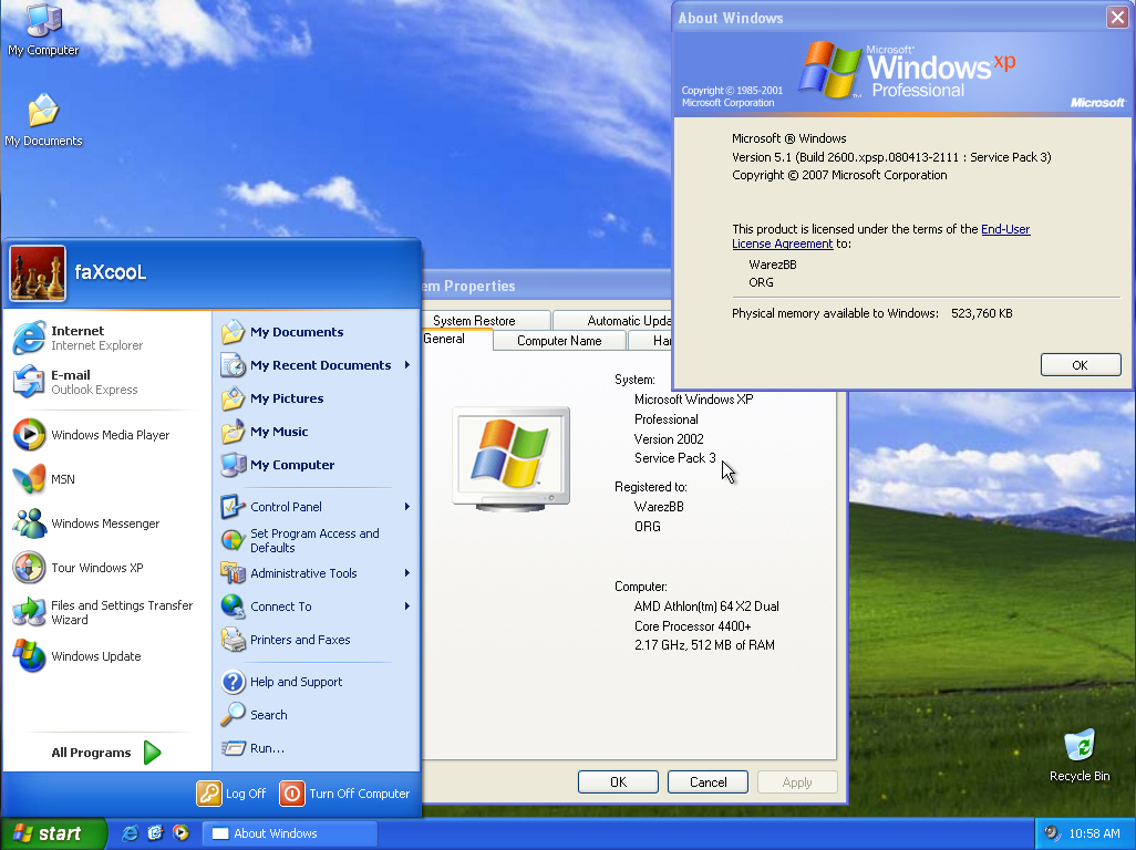 Windows XP Professional SP3 Free Download - Shehraz Khalid