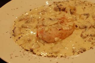 Receta Pechugas de pollo con salsa de champiñón