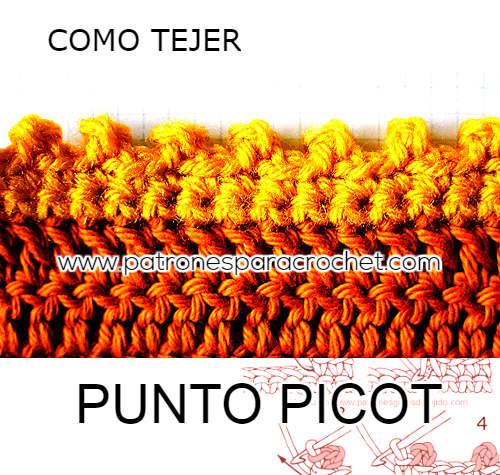 picot-crochet