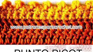 Cómo tejer el punto picot / Aprende Crochet