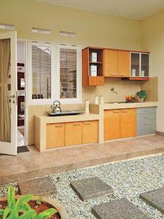 Dapur Outdoor Minimalis