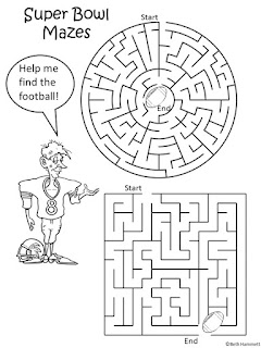 Education Helper: Special Edition: FREE Super Bowl Puzzles!