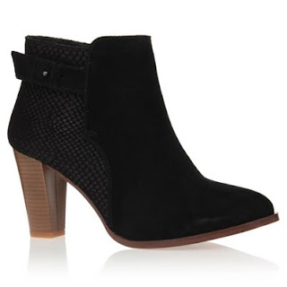 bottines noires chic