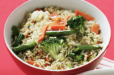 Nasi dan Sayuran