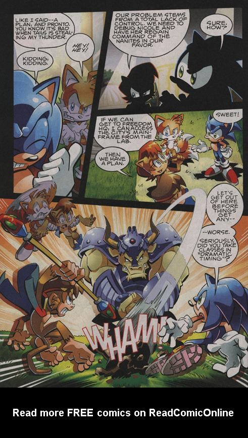 Read online Sonic The Hedgehog comic -  Issue #208 - 12