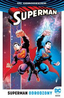 Superman Odrodzony okładka