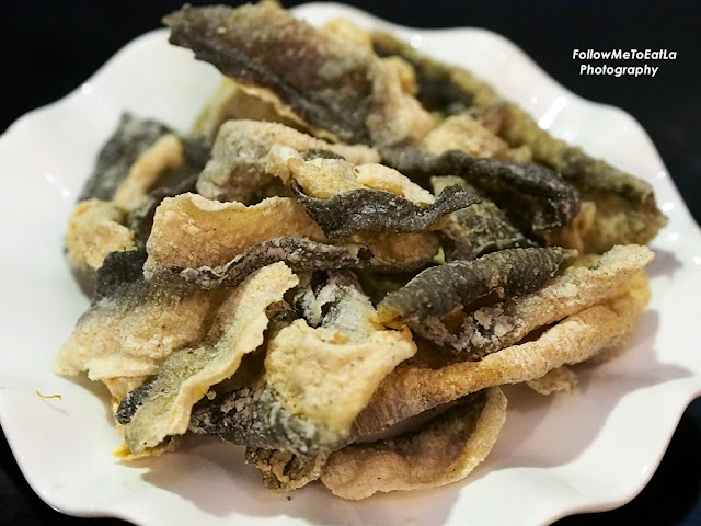 Crispy Fried Fish Skin RM 10.90