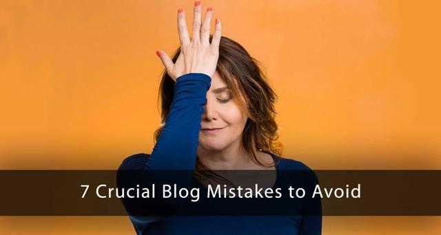 7 Crucial Blog Mistakes to Avoid : eAskme