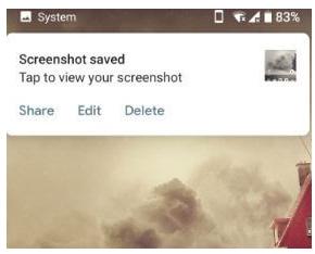 Cara mengambil screenshot di Android P 9.0, begini cara mudahnya
