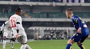 يوفنتوس يسقط بالخساره من امام فريق هيلاس فيرونا في الجولة 23 من الدوري الايطالي