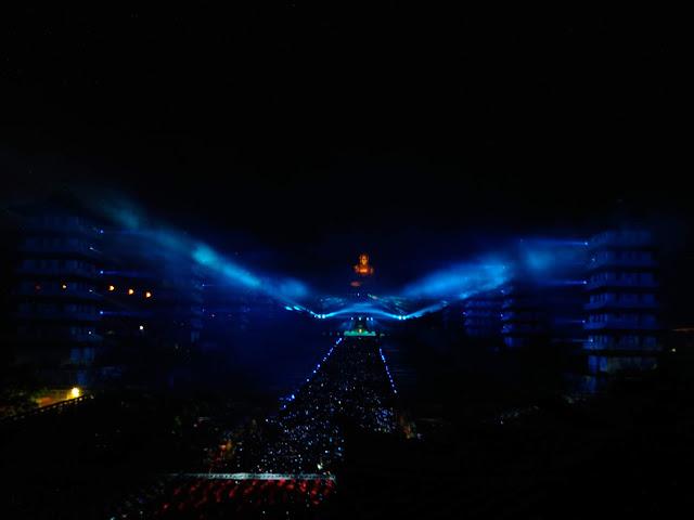 2020年佛光山煙火光雕秀.光照大千祈福活動暨提燈大會