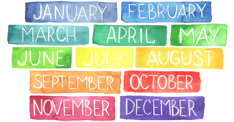 Birth Month Reveal Personality