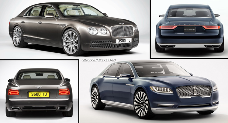 2017 Lincoln Continental Loses Flashy Bits When Rendered: Lincoln Concepts