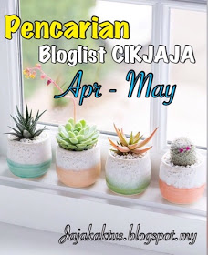 Pencarian Bloglist Cikjaja bagi April dan May