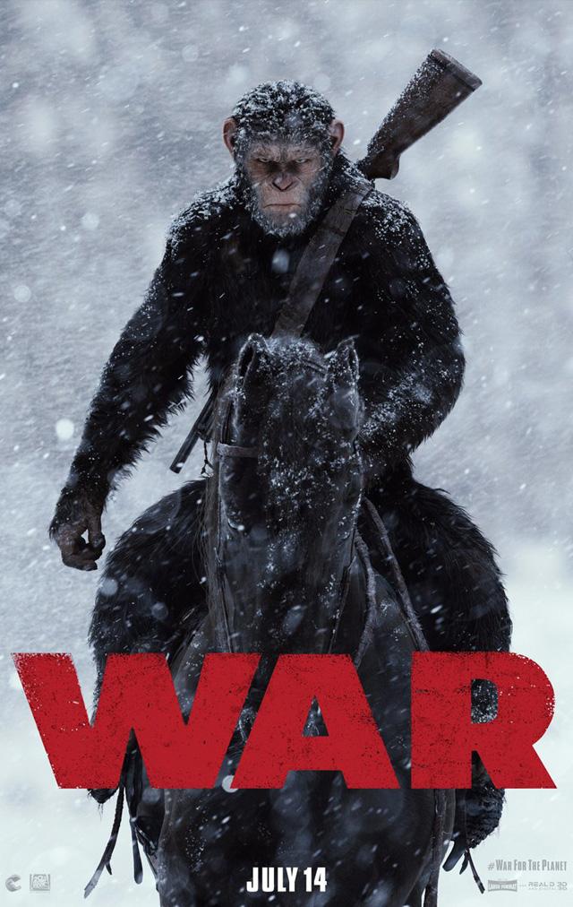 映画 猿の惑星 3作目 ポスター