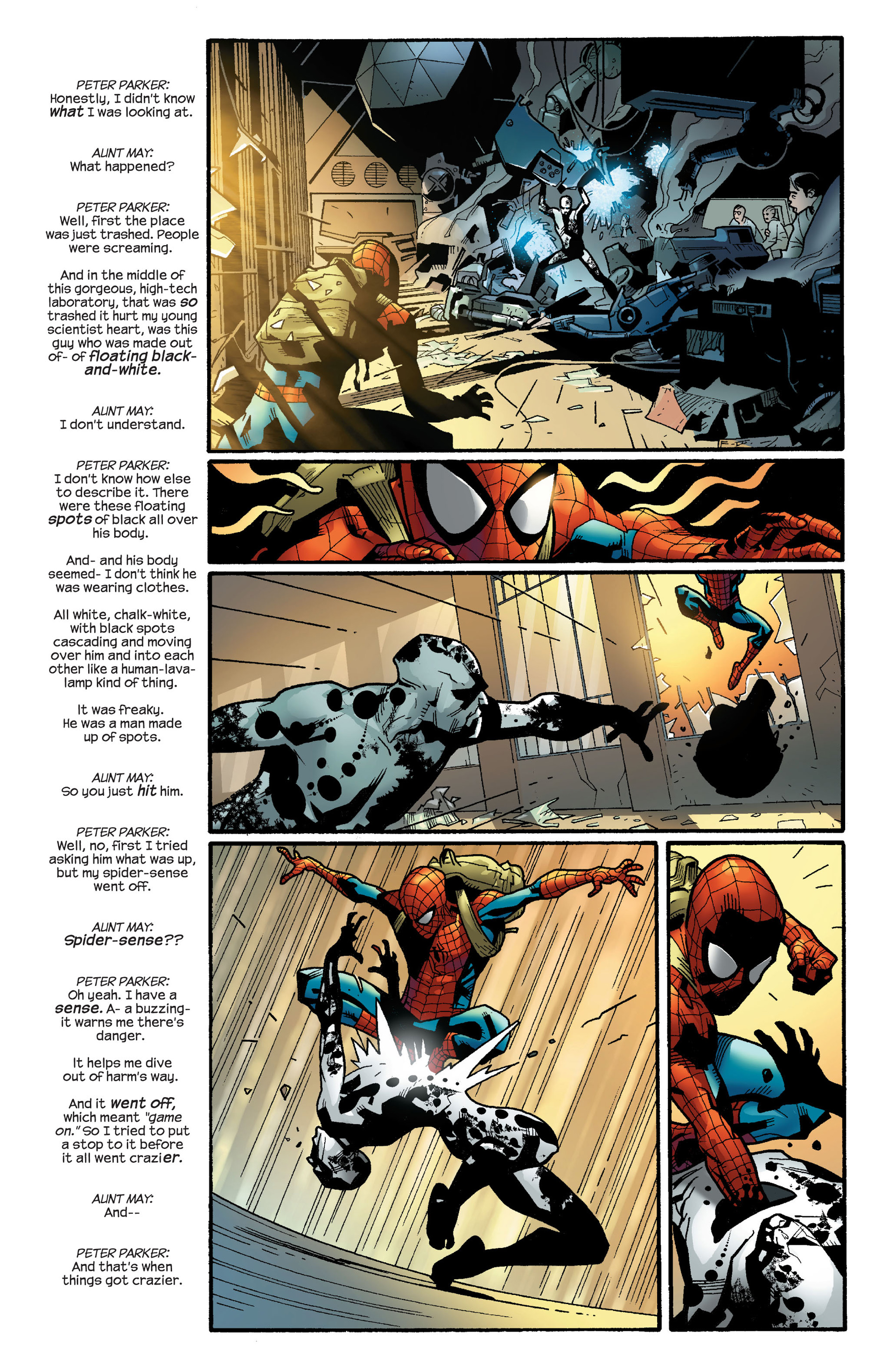Read online Ultimate Spider-Man (2000) comic -  Issue #111 - 12