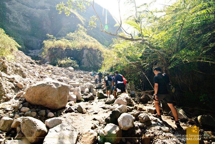 Mt. Pinatubo Lahar Trail