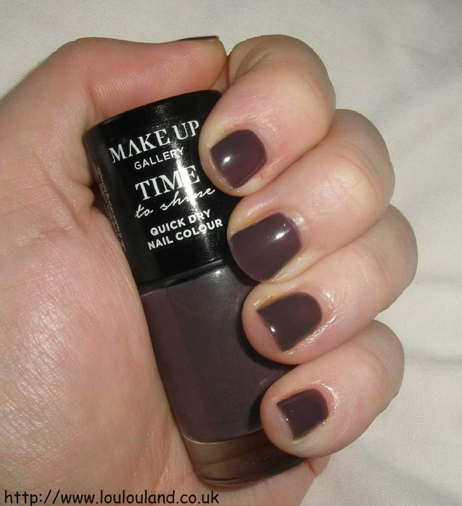 LouLouLand: Make Up Gallery - Time To Shine - Quick Dry Nail Colour ...