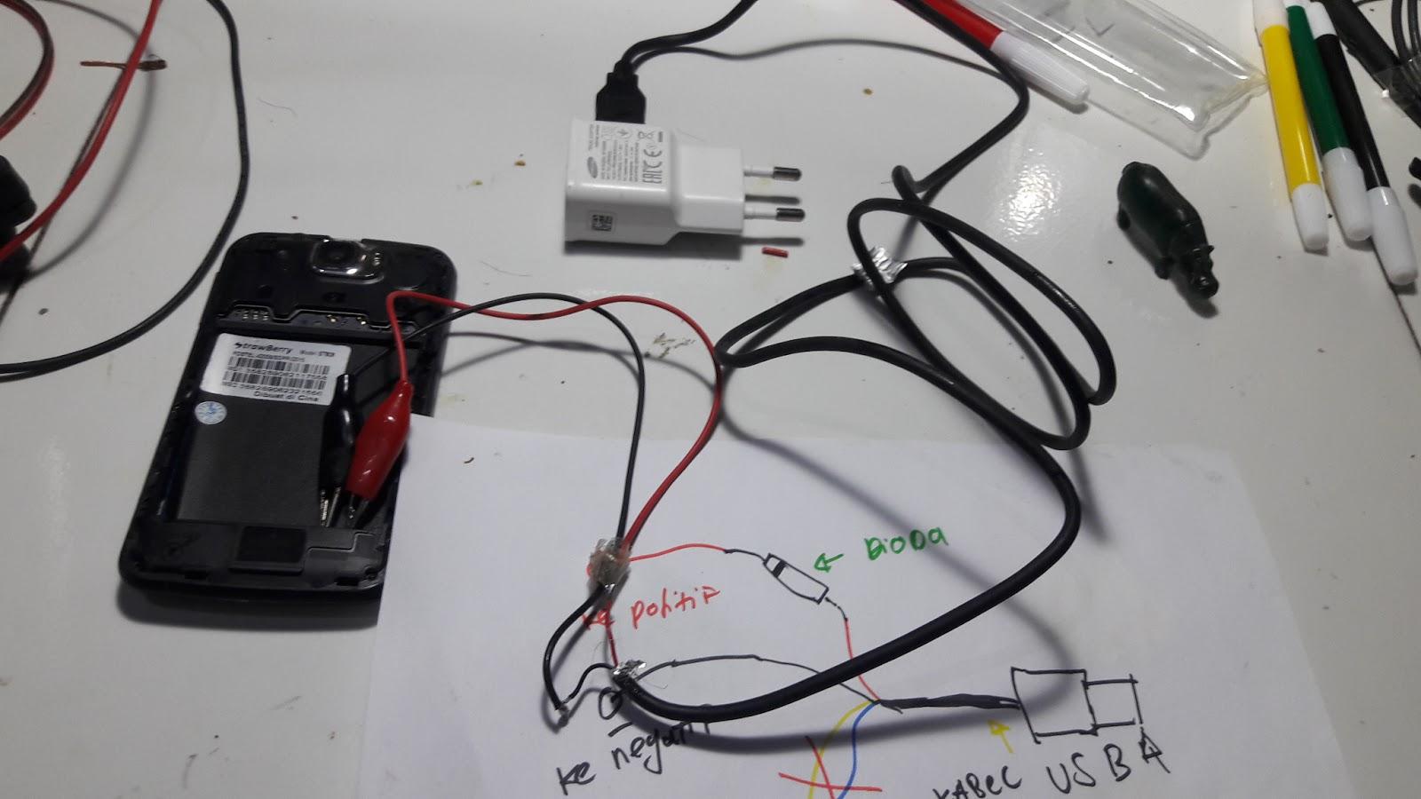 Cara Termudah Menghidupkan Handphone Tanpa Baterai - dh-cell