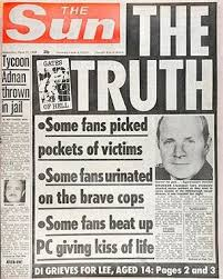 The Sun's Hillsborough slur