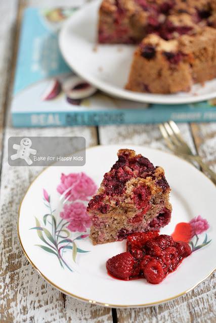 hazelnut raspberry cake gluten dairy free