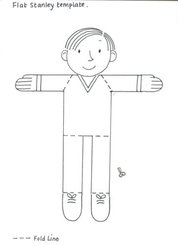 Bublit Blog: Flat Stanley Clothing Templates