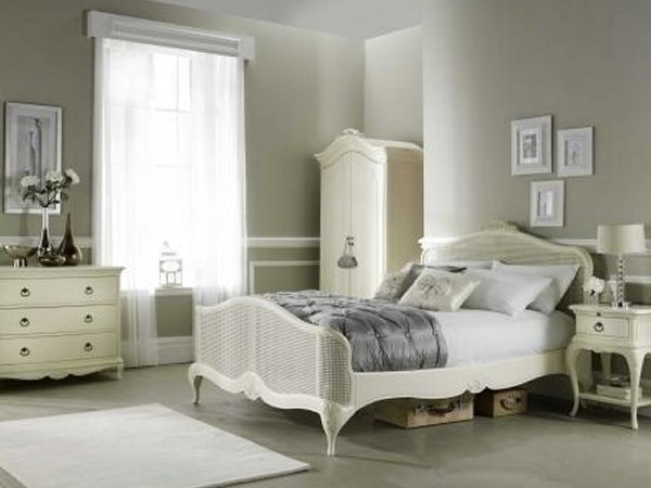white ivory vintage bedroom furniture sets