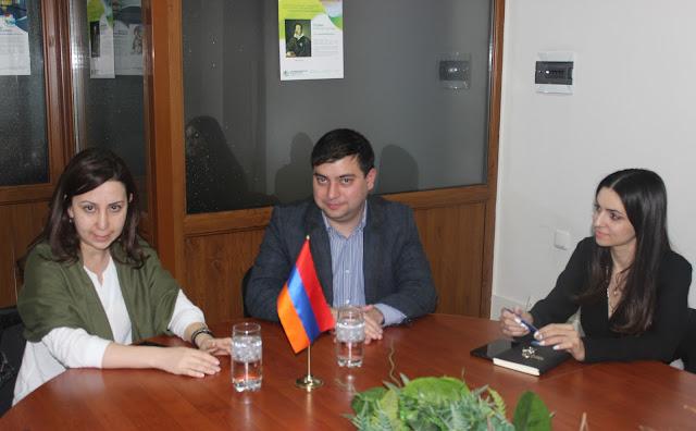 Հանդիպում ՀՀ ԱԺ պատգամավոր Մարիա Կարապետյանի հետ