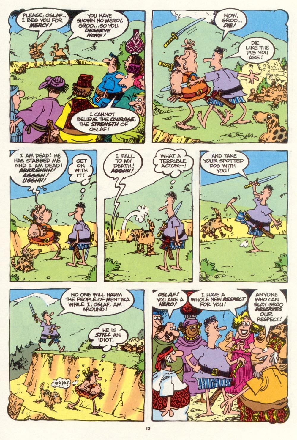 Read online Sergio Aragonés Groo the Wanderer comic -  Issue #111 - 14