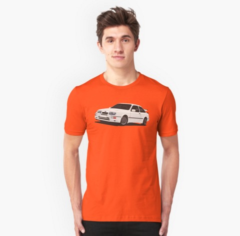 Ford Sierra RS500 Cosworth Redbubble