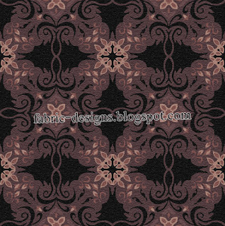 collection of fabric design