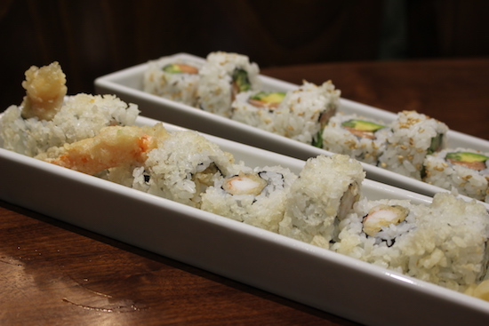 Ethans Lincoln sushi menu