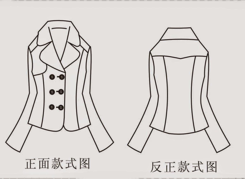 Jackets Chinese Method Of Pattern Making