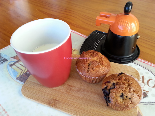 Muffin ai mirtilli - Blueberry muffins