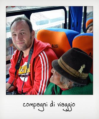 In autobus sulle Ande