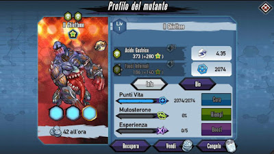 Mutants: Genetic Gladiators Breeding video N°428 (The Glutton - Zombie # Il Ghiottone - Zombi)