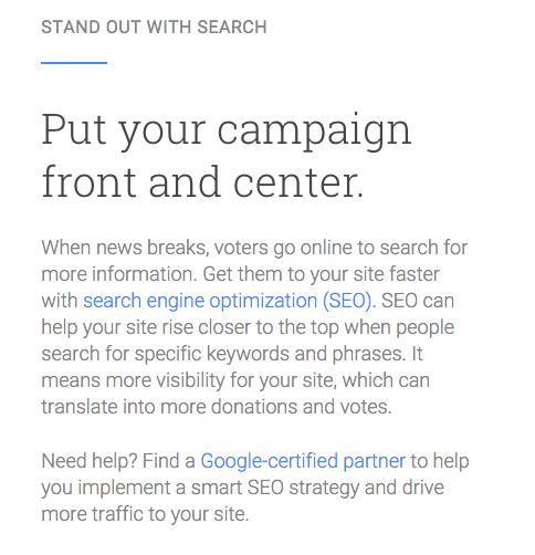 Google Kini Menawarkan Google Certified Partners for SEO