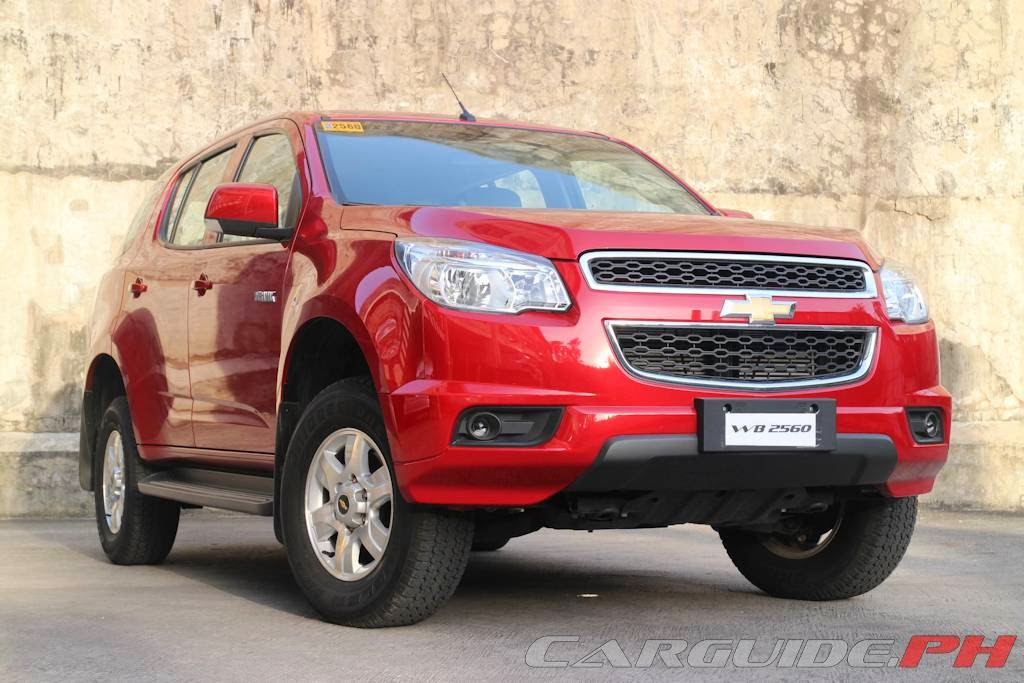 Review 2014 Chevrolet Trailblazer 2 8 4x2 A T Carguide Ph