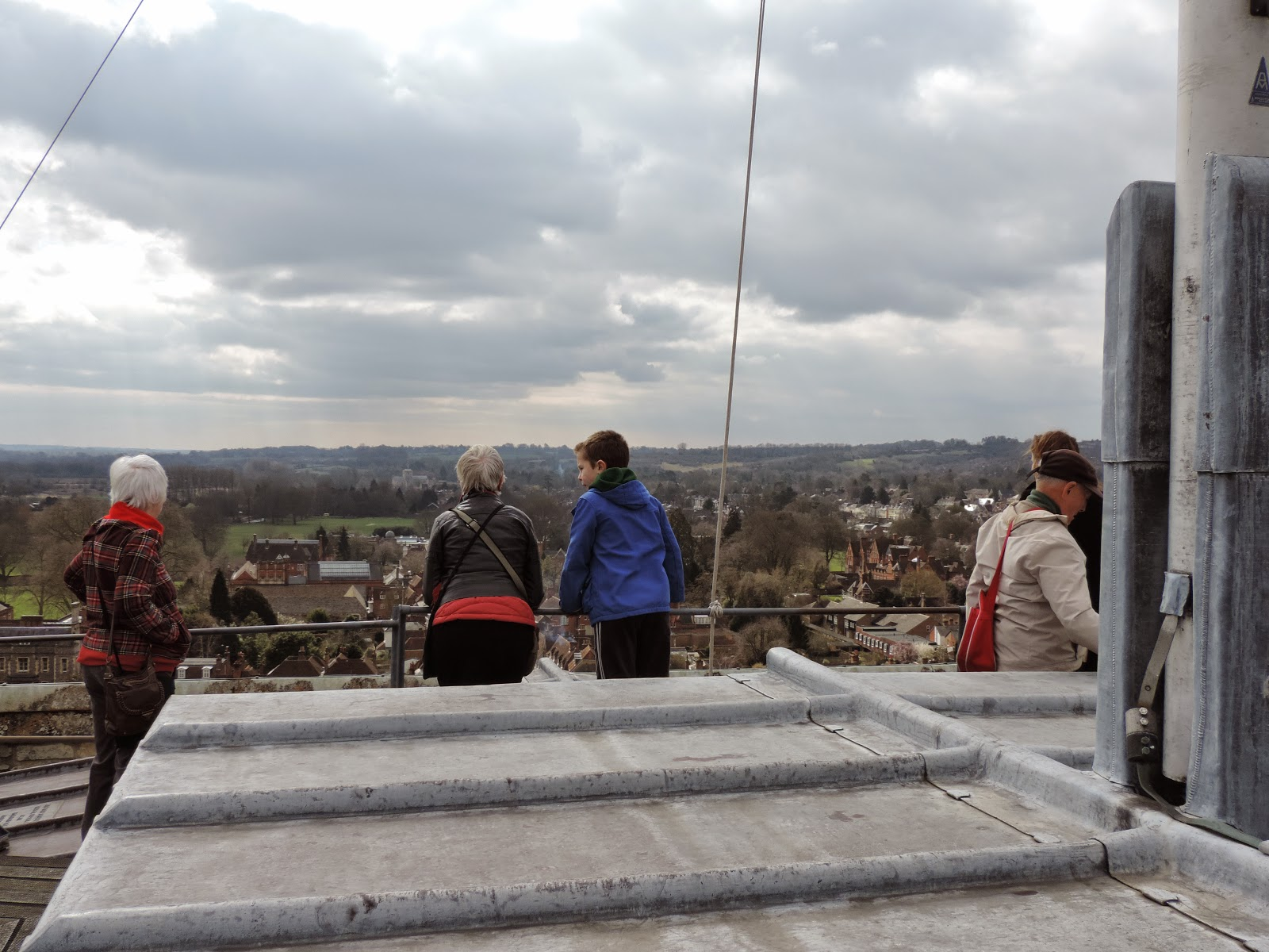 winchester cathedral tower tour guides review