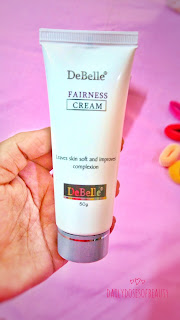 Debelle cosmetix fairness cream review