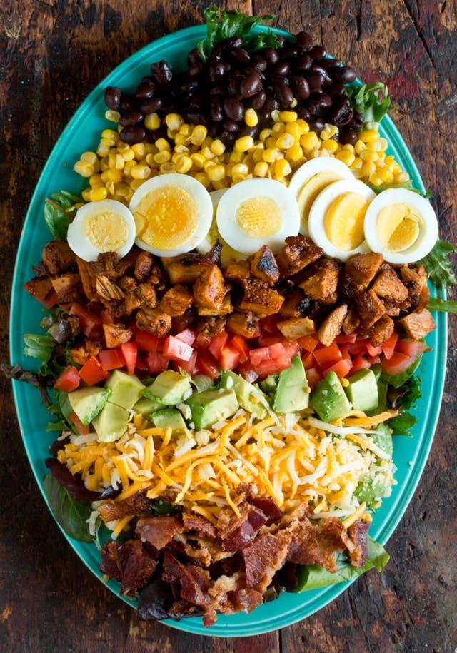 The Best BBQ Chicken Cobb Salad