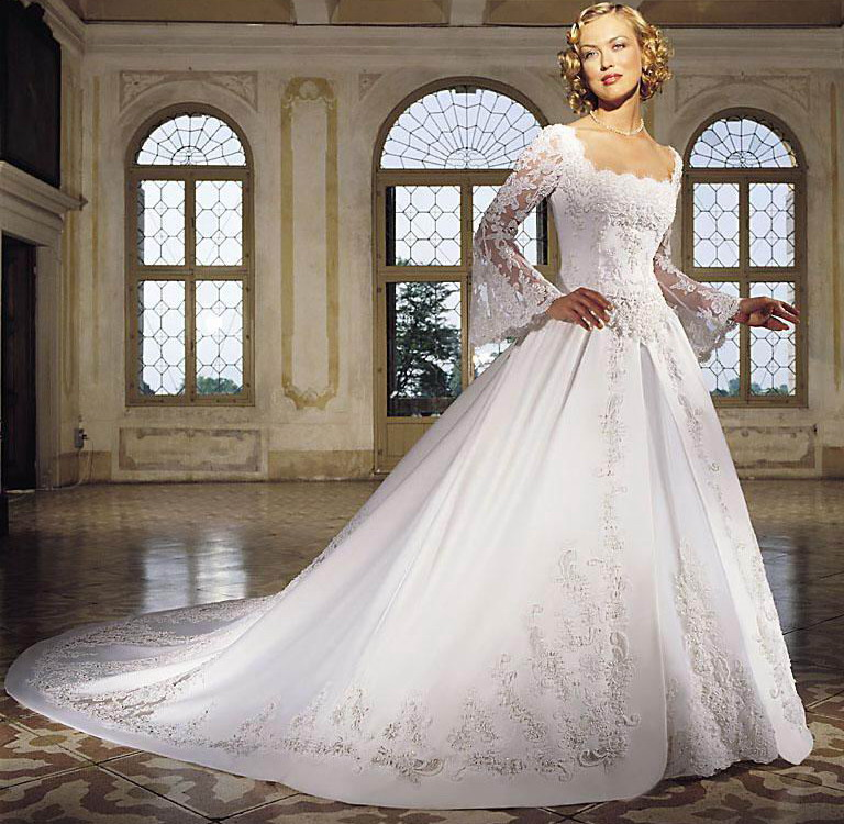 Wedding Dresses With Sleeves 1
